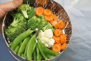Dampfgarer Gemüse kochen