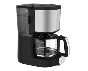 Tefal Kaffeemaschine Element CM4708 Filterkaffeemaschine (1,25 Liter) schwarz